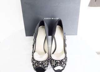 Authentic preloved like new karen millen heels