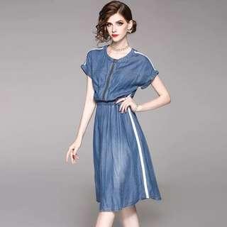 Tencel denim dress