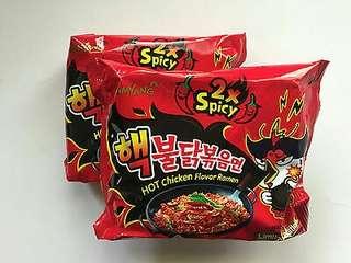 Samyang 2x Fire Noodles