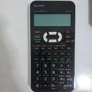 SHARP EL-533X-WH SCIENTIFIC CALCULATOR