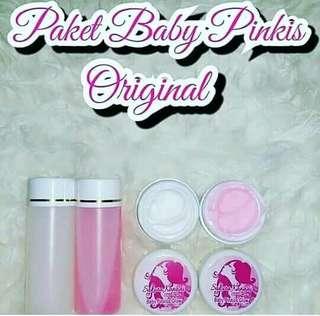Paket Baby Pinkis Original