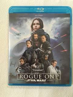Rogue one : A Star Wars movie blu ray