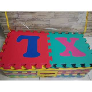 Alphabet Foam Mat