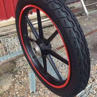 Tire Tayar Tyre Motor Import Kualiti Premium