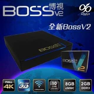 Boss TV V2 電視盒子