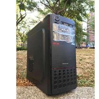 【電電電腦】二手 INTEL i3/SSD/8G/DDR5獨顯 (RO四開/LOL全開/鬥陣特攻/POE) 高雄可面交看機/外縣市貨到付款