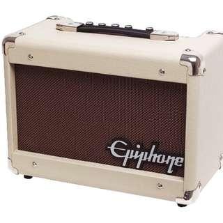 Epiphone Studio Acoustic 15C with Chorus Amplifier