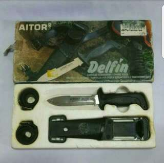 Aitor diving knife set (made in spain)