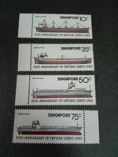 Singapore Stamps NOL Shipping Line 1978
