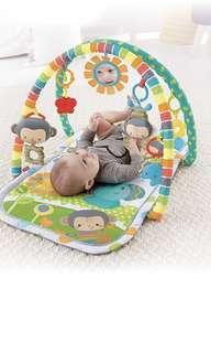 *in stock* Fisher-Price Musical Play Gym playmat, SnugaMonkey