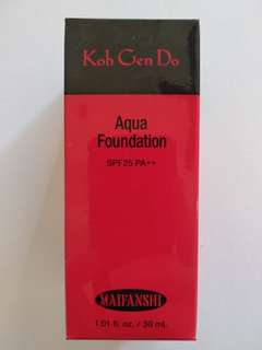 Koh gen do aqua foundation 213