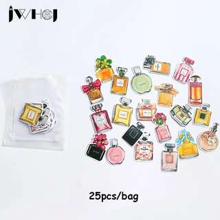 (Pre-order) 25 pcs Perfume bottles sticker
