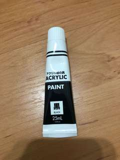 Black Acrylic Paint 25ml