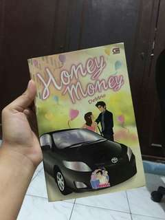 Buku novel honey money#BOI2018