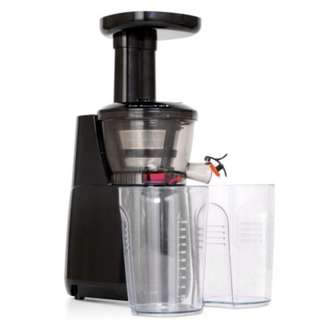 High Yield Cold Press Slow Juicer  Food Grade Durable Material  BLACK