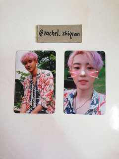 EXO THE WAR KOKOBOP CHANYEOL PHOTOCARD