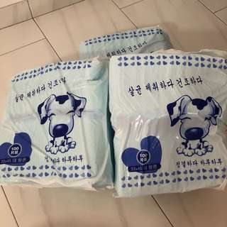 Pee Pad S Size -3 for $32 (free delivery)