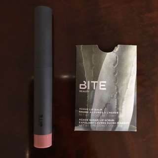 BITE Beauty Lipstick + Lip Balm