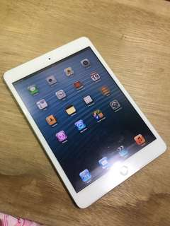 ipad mini 1 16gb wifi cell fullset ori ios 6 langka bsa COD