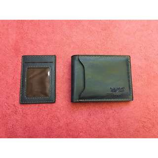 Men's Bifold Wallet and Card Holder Genuine Leather