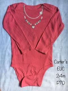 Carter's Onesie - 24m