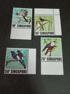 Singapore Stamps Song Birds 1978