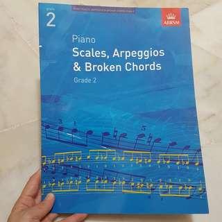 ABRSM Piano Grade 2 Scales