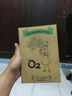 Buku novel orizuka #BIO2018