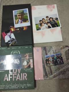 BTS albums clearance