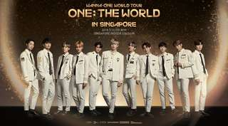 WANNA ONE [ONE: THE WORLD IN SG]lower than original price