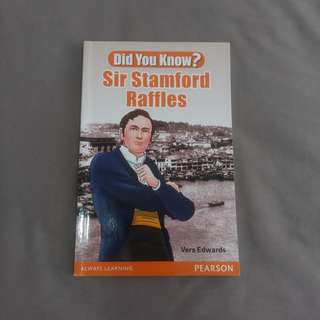 Sir Stanford Raffles book
