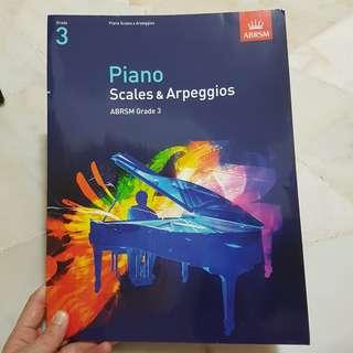 ABRSM Piano Grade 3 Scales & Arpeggios