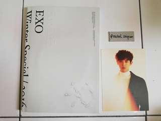 EXO FOR LIFE ALBUM w/ CHANYEOL POSTCARD