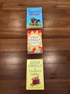 Sophie Kinsella 3 Books for RM50