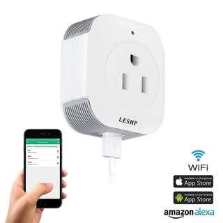 176. Wifi Smart Plug-LESHP USB Smart Socket (2 Packs)