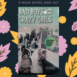 PREMIUM : E-BOOK PDF NOVEL BAD BOY VS CRAZY GIRL