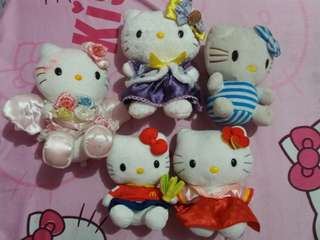 Hello kitty plush take all! :)