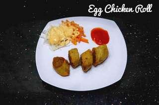 Frozen Food Egg Chicken Roll