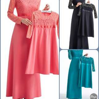 Raya Lace Dress Mum and Daughter