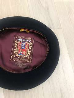 Vintage France beret 法國畫家帽