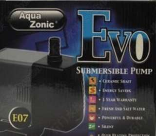 Evo e07 submersible fish pump (for 5ft to 6ft sump or ohf)