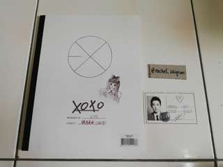 EXO XOXO CHINESE VER w/ CHANYEOL OC