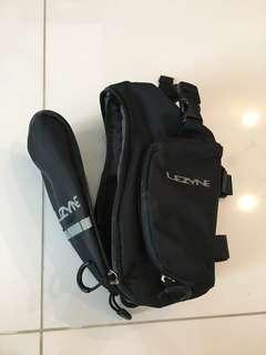 Lezyne saddle bag (Large). Used