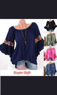 (Po) Embroidery Top