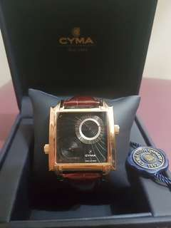 Offer *NEW* CYMA Dual Time Classic Watch