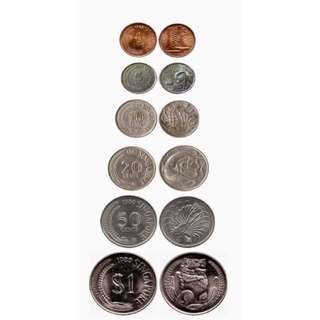 Singapore First Series Coins
