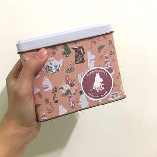 🚚 嚕嚕米moomin 鐵盒造型餅乾