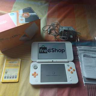 Nintendo New 2ds XL Jailbreak (CFW) w/ Freeshop - Download any 3DS games for FREE