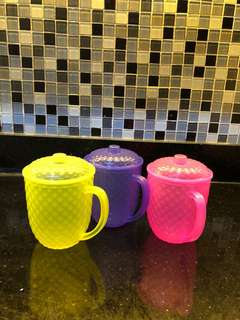 mug plastik diamond