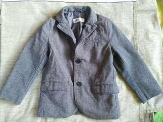 Preloved H&M formal coat for 3-4yrs old boy